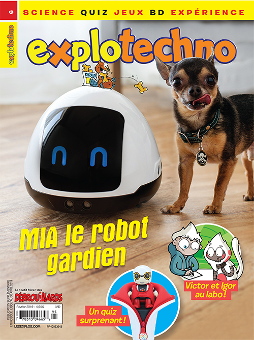 Février 2019 – Explotechno – Mia le robot gardien