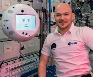 Cimon et Alexander dans l'espace !
