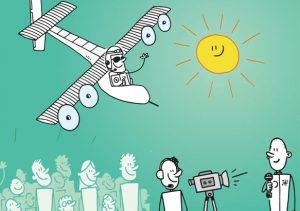 Voler grâce à l'énergie solaire !