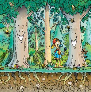 Les arbres se parlent