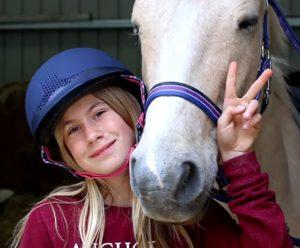 Un petit cours d'équitation
