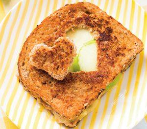 Grilled cheese à la pomme verte