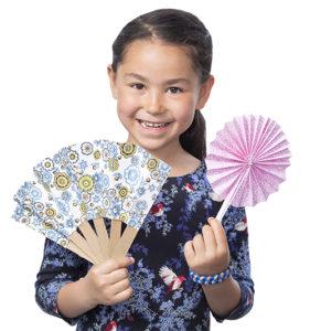 Fabrique des éventails japonais