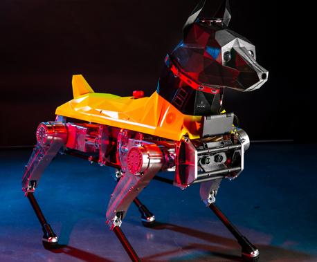 Astro, le chien-robot qui apprend !