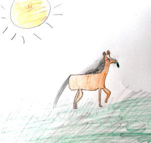 Ariane Papillon, 6 ans
