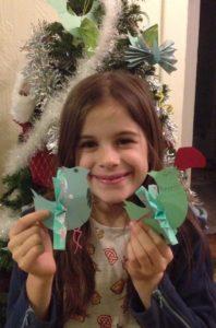 Élodie Hunt, 9 ans