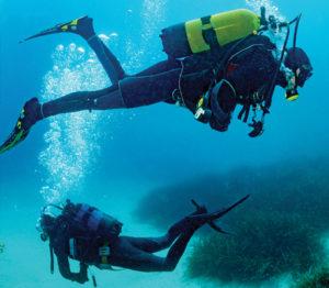 Plongeon sous pression