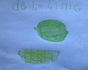 Camille Truffy, 8 ans