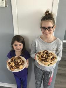 Lou et Lana Wéry, 6 et 10 ans