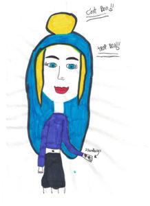 Marie-Pier Joanisse, 9 ans