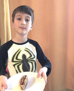 Milorad Labbé Ménard, 7 ans