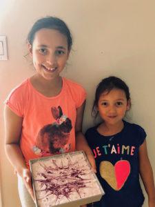 Sophia et Isabella Vargas, 9 et 5 ans