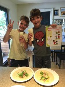 Maxime et Louis Choquette, 6 et 8 ans