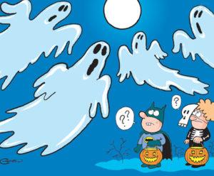 Une lune bleue cette Halloween
