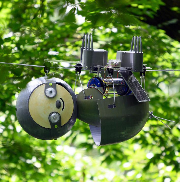 En vidéo : SlothBot, le robot paresseux