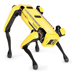 En vidéo : chien-robot tout-terrain