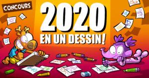 Concours : 2020 en un dessin !