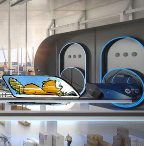 Voyageras-tu dans l'Hyperloop?