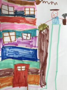 Antoine Racine, 5 ans