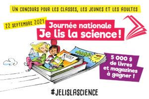 Le 22 septembre, « Je lis la science ! »