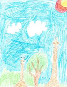 Benjamin Renaud, 8 ans