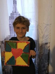 Étienne Morin, 8 ans