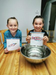 Noélie et Laura Charbonneau, 7 et 8 ans