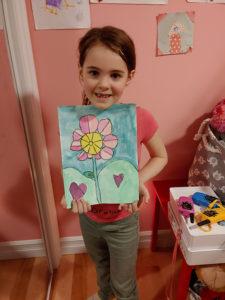 Romy Vaillancourt, 6 ans