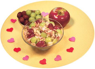 Salade de fruits salée