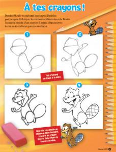 À tes crayons ! Dessine Boulo !