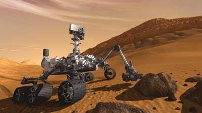 Vidéo : un nouveau visiteur sur Mars