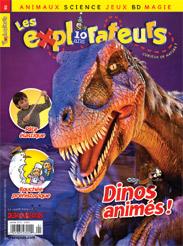 Janvier 2012 – Dinos animés!