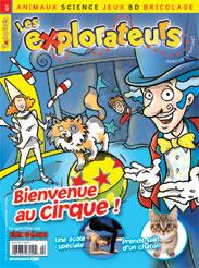 Avril 2013 – Bienvenue au cirque !